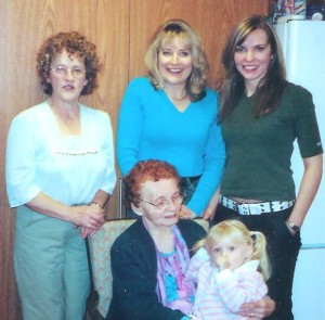 FIve generations of strong women. 2004. www.ShelleyGoldbeck.com